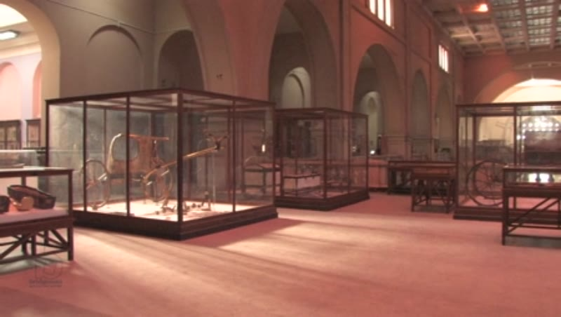Inside the Egyptian Museum in Cairo 9