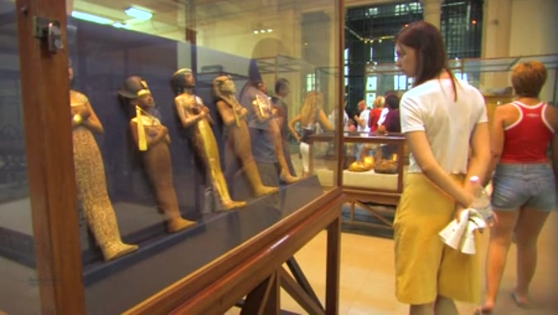 Inside the Egyptian Museum in Cairo 4