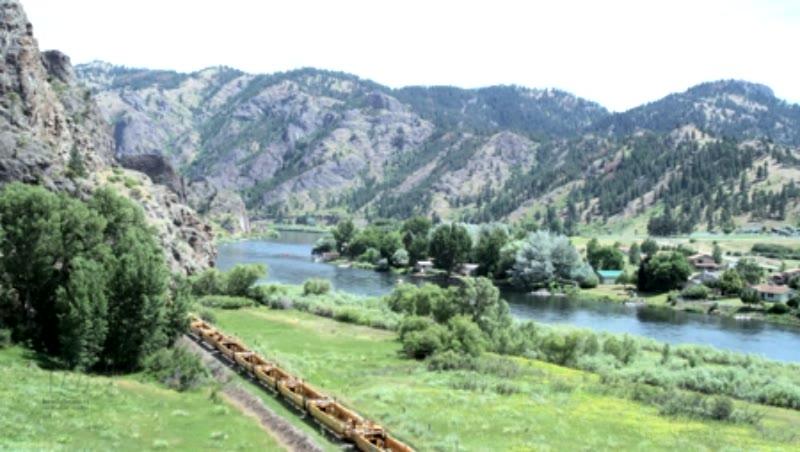 Montana Scene with Missouri River