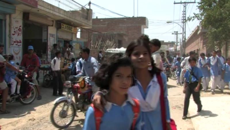 School Kids in the Punjab 1
