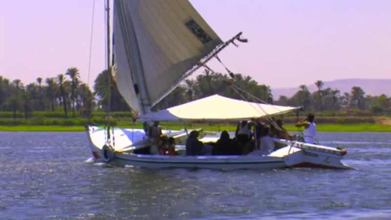 Felucca on river Nile 1
