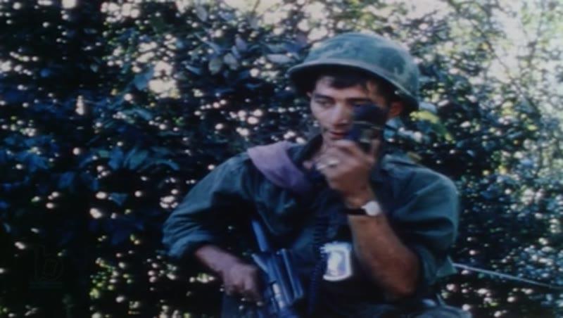 Vietnam War - Operation Big Spring, 1967 - US soldiers under attack in jungle