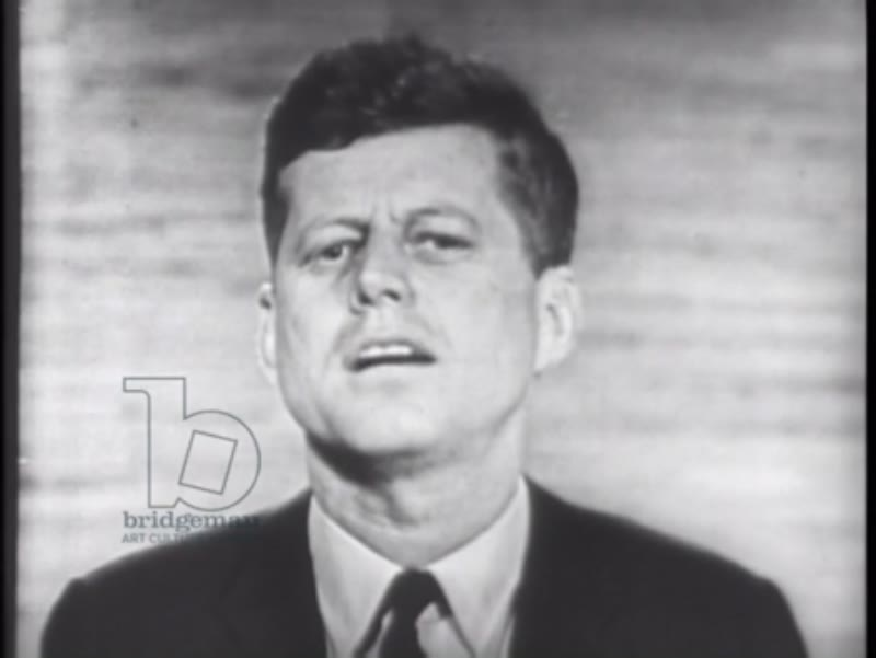 Part one, 2nd presidential campaign debate Kennedy - Nixon, 1960