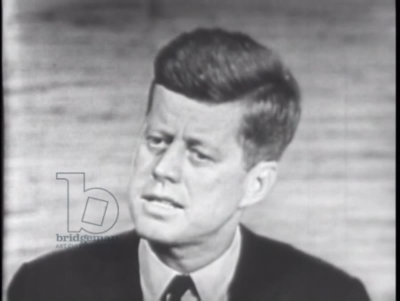 Part two, 2nd presidential campaign debate Kennedy - Nixon, 1960
