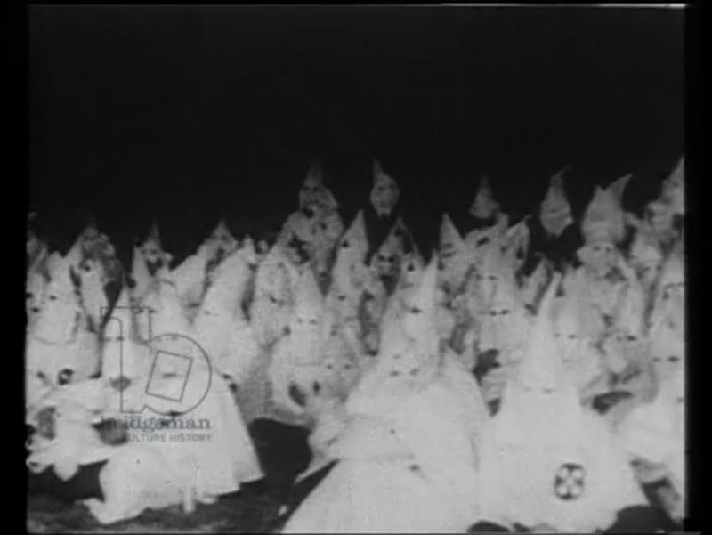 The Ku Klux Klan, 1920s, USA