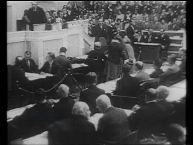 Occupation of the Ruhr, League of Nations, British PMs Baldwin, Churchill, MacDonald, French PM Blum, Rif War in 1924
