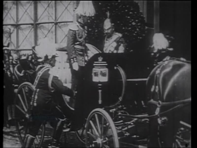 Kaiser Wilhelm, King George, Franz Joseph, King Albert, parades and marches, 1914, WWI