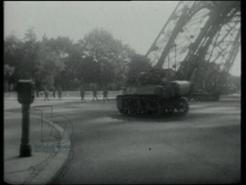 The Liberation of Paris, General Leclerc, Germans surrender, 25th August 1944